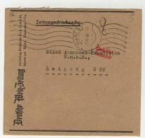 Geb�hr bezahlt Mainz 1948 Briefvorderseite