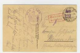 Geb�hr bezahlt Cunewalde 1923