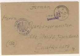Geb�hr bezahlt Frankfurt 1946