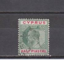 Chypre YT 34 Obl : Edouard VII - 1903 - Zypern (...-1960)