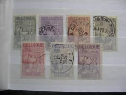 9.1     BELGIE   1933    Nr. 377 - 383        Gestemp.     CW  190,00 - Used Stamps