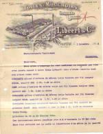Courtrai - 1913 - Libeert & Cie - Toiles - Mouchoirs - Bélgica