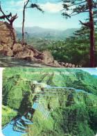 """Asie-PHILIPPINES Lot, Ensemble De 2 Cartes ( View Of Baguio City / Rice Terraces)(philatélie Timbre Stamp """"Pilipinas"""") - Philippines"""