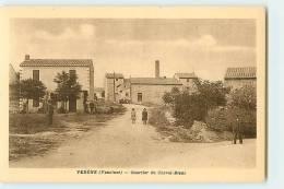 VEDENE : Quartier Du Cheval Blanc. 2 Scans. Edition Coupard - Other Municipalities