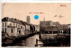 Malines  : Dyle à La Porte Winket - Mechelen