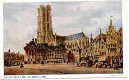 Malines  : La Cathédrale En 1833 - Mechelen