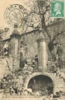88 ENVIRONS DE LA FEUILLEE - DOROTHEE HOTEL - ENTREE DES JARDINS AUX RUINES DE L ABBAYE D HERIVAL  ( ANIMEE ) - France