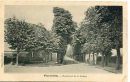CPA 93 PIERREFITTE BOULEVARD DE LA STATION - Pierrefitte Sur Seine