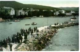 Abbazia_2  Porto, Molo Und Hafen, Opatija, Markert & Sohn, Dreden, 1907 - Kosovo