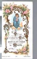 Image Pieuse Religieuse Holy Card - Ed Bonamy 235 - On Est L'Enfant Du Ciel Quand On Est L'enfant De Marie - Santini