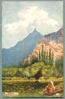 The Tuckt Of Sunamen In Kashmir Ca. 1909 Raphael Tuck Oilette Postcard Artist-signed F.G. Parbury (kk-8) - India