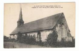 ST SULPICE DES LANDES - 44 - L `EGLISE DU VIEUX BOURG , PRISE AU SUD - France