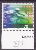 Suisse N°1653** - Used Stamps