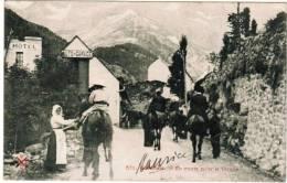 CPA Gavarnie, En Route Pour La Cirque (pk6722) - Gavarnie