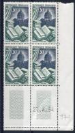 971  **    Bloc De 4, Coin Daté  27.4.54 - 1950-1959