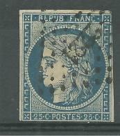 France No: 4 A Cote 70 Euros Y T - 1849-1850 Cérès