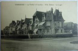 Cabourg Le Trèfle à 4 Feuilles - Villa Dalloz - Le Logis - édition Chevallier - Phototypie Desaix - Cpa Non écrite - Cabourg
