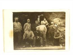 CPA 49 Daumeray - Militaire - Camp De Meschede Allemagne - Prisonnier De Guerre NAIL - Carte Photo - 1918 - Autres Communes