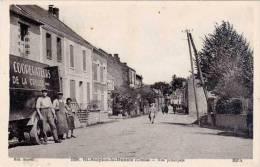 St-Sulpice-le-Dunois –  Rue Principale (camion Coopérateurs De La Creuse) - France