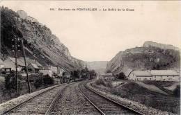 Environs De Pontarlier – 644 Le Défilé De La Cluse (ligne De Chemin De Fer) - Pontarlier