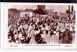 Maroc-Marrakech-Le Marché-1926-Le  Sultan-CP NEUVE - Marrakech