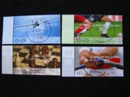 BRD  Mi  2649 - 2650 - 2651 - 2652  O - Used Stamps