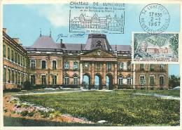 Jan13Ph 884: Carte Maximum  -  Château De Lunéville - Cartes-Maximum