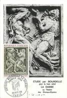 Jan13Ph 886: Carte Maximum  -  Antoine Bourdelle  -  La Danse - Cartes-Maximum