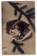 PHOTOGRAPHS CHILDREN GIRL WITH DOLLS R Nr. 866-7402 OLD POSTCARD 1917. - Photographs