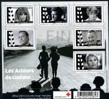 France 2012 -   Croix  Rouge  Française - Les Acteurs De Cinéma MNH - Neufs