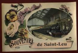 Cpa Du 95 Souvenir De Saint Leu     SAB30 - Saint Leu La Foret