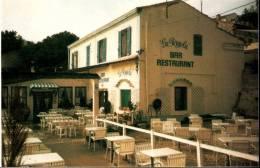 """Calanque De Niolon Restaurant LA PERGOLA Lieu De Tournage Du Feuilleton """"la Calanque"""" Triptyque De 3 Cpm - Frankreich"""