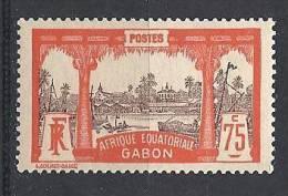 GABON  N�  62 NEUF*  TTB