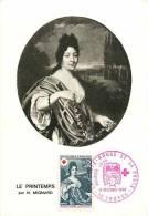 Jan13Ph 892 : Carte Maximum  -  Nicolas Mignard  -  Le Printemps  -  La Croix-Rouge - 1960-69