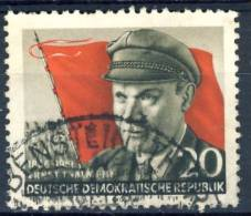1956 East Germany Cplt. Set Of 1 Stamp Used, Thaelmann Michel # 520a - Unused Stamps