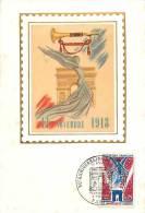 Jan13Ph 898 : Carte Maximum  -  50e Anniversaire De L'Armistice - 1960-69