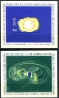 1964 East Germany  Set Of 2 MNH Souvenir Sheets, Yearof The Quiet Sun, Michel # 1082-1083 - [6] Democratic Republic