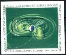1964 East Germany MNH Souvenir Sheet, Yearof The Quiet Sun, Michel # Block 22 - [6] Democratic Republic