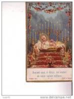 IMAGE PIEUSE  -  Donnez Moi, ô Jésus Les Vertus De Votre Sainte Enfance - Devotieprenten