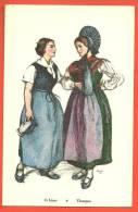 C1176 Lot 8 Cartes De Costumes,Lot 8 AK Trachten Thurgau,Solothurn,Fribour G,Baden,Freiamt,Fricktal, Murten,Gruyères.Nic - Suisse