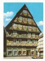 Cp, Allemagne, Herzogstadt Celle, Hoppener Haus, Voyagée 1989 - Celle