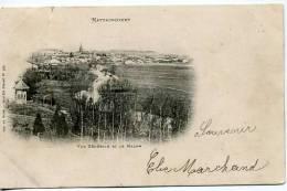 970  Mattaincourt    Vue Générale Et Le Madon - France
