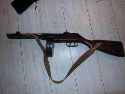 PPSH41 1942 Neutralisée SE Port Compris - Armes Neutralisées