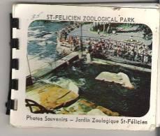 """English Francais   St-Felicien Zoological Park Photos Souvenirs - Jardin Zoologique St-Felicien 4"""" X 3.3"""" 10 Cm X 8.5 Cm - North America"""