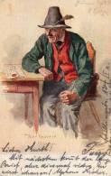 Munchen 1900 Bier Postcard - Muenchen