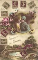 TIMBRES - LANGAGE DES TIMBRES - Briefmarken (Abbildungen)