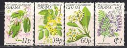 "Ghana    ""Flowers""        Set      SC# 674-77 MNH** - Plants"
