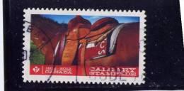 CANADA. 2012, USED  #2547, CALGARY STAMPEDE, Die Cut STAMP - Single Stamps