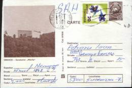 "Romania-Postal Stationery Postcard 1980-Oravita-Tuberculosis Sanatorium Treatment ""Marila"" - Enfermedades"