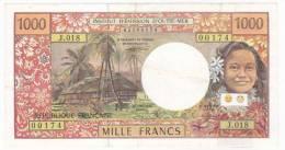 Polynésie Française - 1000 FCFP - J.018 / Signatures Pouilleute / Ferman / Beugnot (1995 / 1998) - Papeete (Polynésie Française 1914-1985)